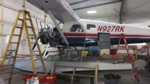 Float Plane Annual Inspection