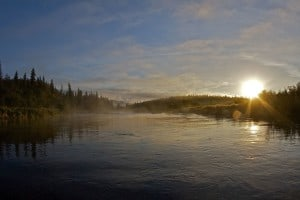 Morning in Alaska