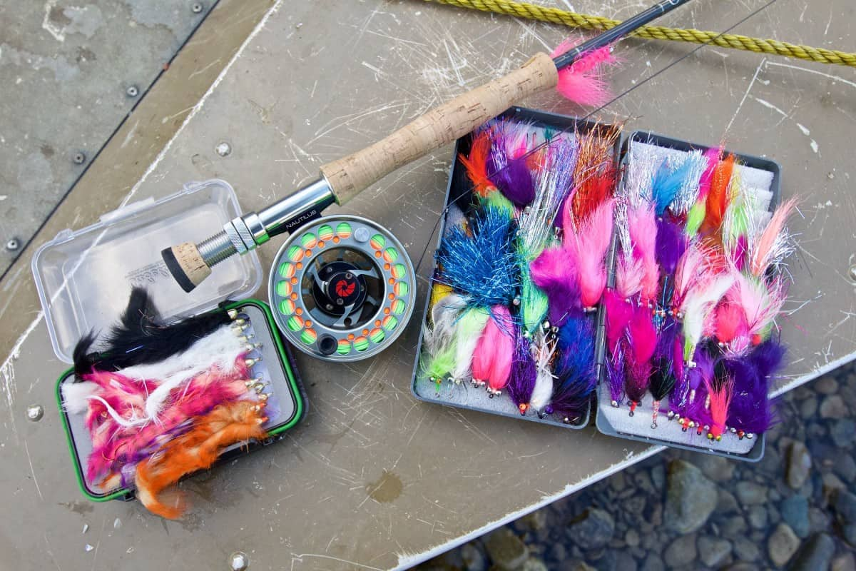 Streamers for Coho Salmon Fishing at Rainbow King