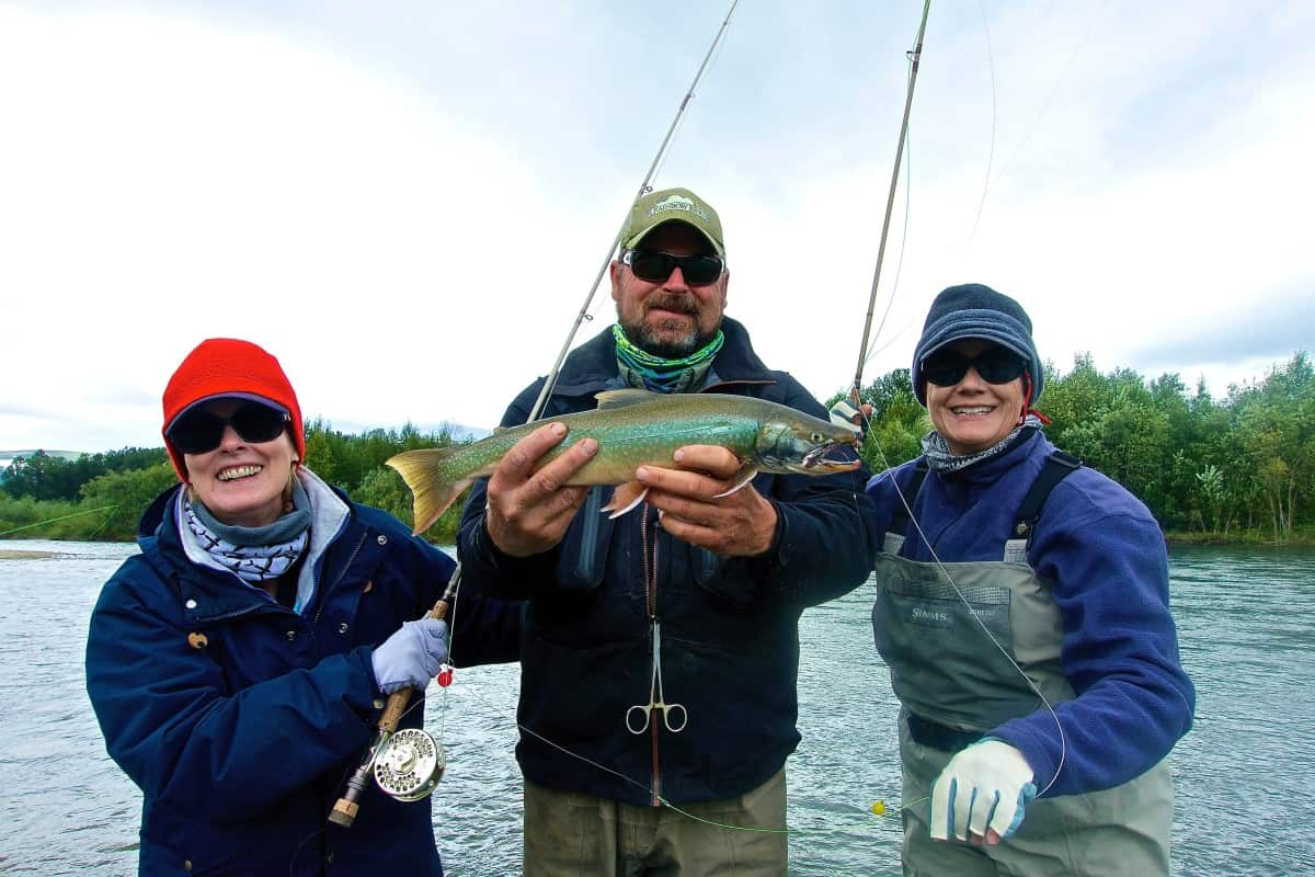 Ladies Fly Fishing Lodge