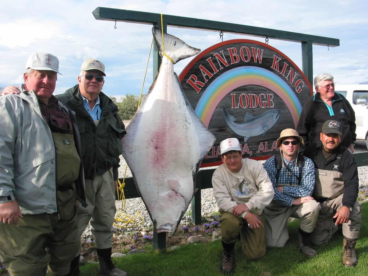 Halibut fishing at RKL