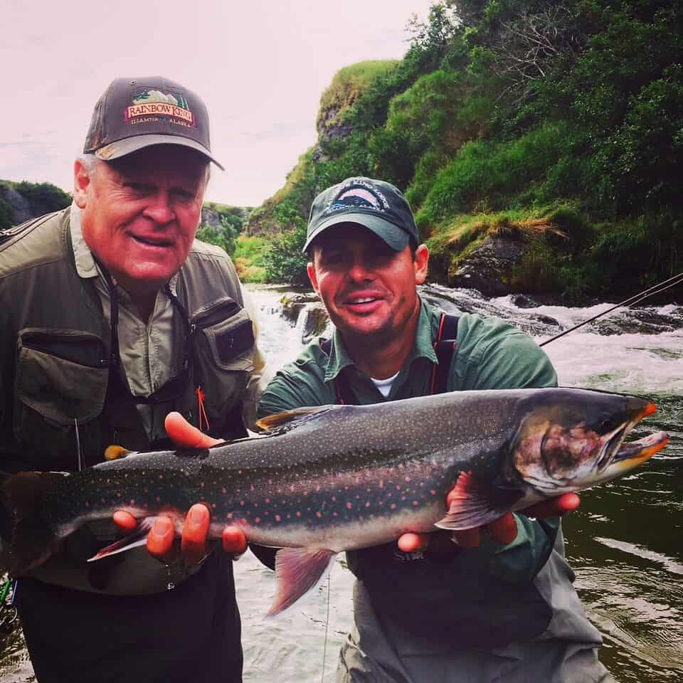 Big Dolly Varden caught in Alaska