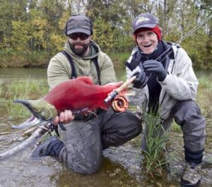 Alaska Salmon Fishing Lodges