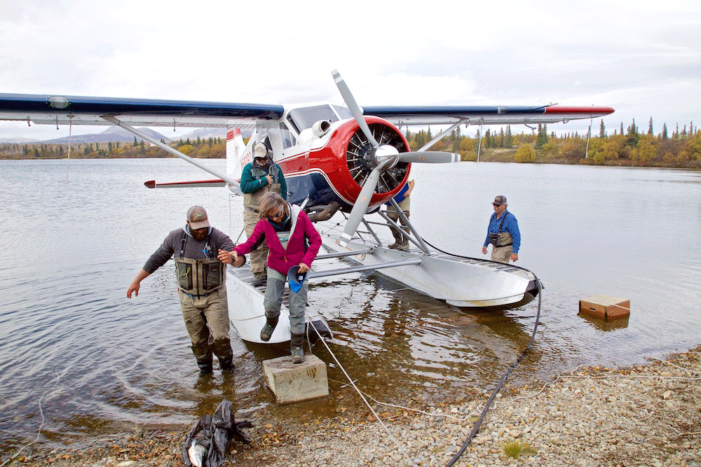 Beaver Float Plane at Rainbow King